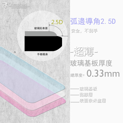 Metal-Slim Xiaomi ���� Note 3 0.26mm 9H����@�i�����Ƭ����O�@(����NOTE 3)-�ӫ~²����3
