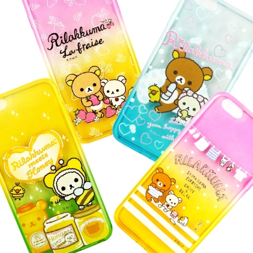 Rilakkuma �ԩԺ� iPhone 6S Plus /6Plus �mø���h�O�@�n�M(����A)-�ӫ~²����1