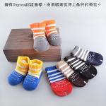 【6雙】貝柔國際Supima美國棉萊卡手工對目寶寶襪(綁帶休閒款)