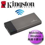 Kingston���h�y MobileLiteWireless MLW221 �L�u�d�Ф��ɾ�+��ʹq��