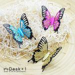 【Desk+1】翠漾鳳蝶-磁吸三隻超值組-特