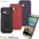 Metal-Slim HTC ONE mini 2 皮革系新型保護硬殼(皮革黑)