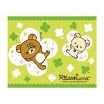 拉拉熊Rilakkuma綠色幸運草中門簾85x68cm(RKD20810)
