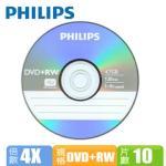 Philips 4X DVD+RW (10���)
