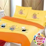 【原色布屋】回憶童年 貼布繡加大四件式被套床包組