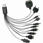 KINYO 10合1 USB萬用充電連接線(USB-18)