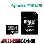 Apacer�t¤ 16GB MicroSD UHS-1 �W���t�O�Хd(����d