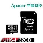 Apacer�t¤ 32GB MicroSD UHS-1 �W���t�O�Хd(����d