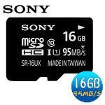 SONY 16GB microSDHC 95MB/s UHS-I Class10 �O�Хd