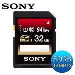 SONY SDHC UHS-I U3 94MB/s 32GB �O�Хd