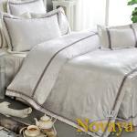 Novaya《費洛雪》緹花貢緞雙人七件式床罩組