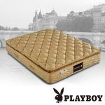 【PLAYBOY】三A蠶絲科技軟式獨立筒床墊 雙人