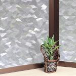 原售2990元【日本MEIWA】抗UV節能3D靜電窗貼★片片星鑽 (92x500公分)