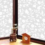 原售690元【日本MEIWA】抗UV節能靜電窗貼★花卉小物 (46x200公分)
