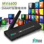 FLYone MV6600���z�q���+Miracast�G�X�@�Xĥ��Android TV Dongle