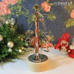 【Desk+1】點亮聖誕樹 (附音樂鈴)-特