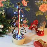 【Desk+1】點亮聖誕樹(附LED燈/USB座)-特