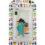 【Disney】Samsung Galaxy Note 4 彩繪透明保護軟套-泰瑞