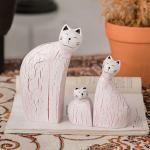 【seoul幸福市集】北歐風格擺飾貓咪木質彩繪家居裝飾