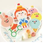 【Seoul幸福市集】book mark friends-俄羅斯女孩書籤(粉色-冰淇淋)