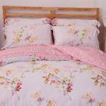 【Novaya諾曼亞】《珀茲堤》雲天絲雙人床包兩用被四件組