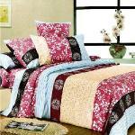 Hua Shin【午後陽光 】加大 鋪棉兩用被套床罩七件組
