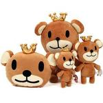 【seoul幸福市集】聖誕節禮品-皇冠熊絨毛娃娃(35cm)