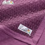 【Arnold Palmer】時尚精緻四季毯4×5尺(型A1)(紫色)