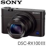 高速64G原電充UV組★SONY DSC-RX100M3 類單眼數位相機 (公司貨)