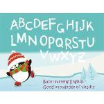 Christine寶貝學習牆貼/ABC學習/卡通牆貼(大) TEC006 可填色-冰地冒險