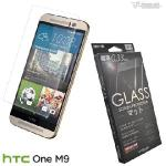 Metal-Slim HTC M9 9H弧邊耐磨防指紋鋼化玻璃保護貼(M9)