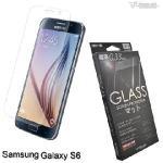 Metal-Slim 三星Galaxy S6 9H弧邊耐磨防指紋鋼化玻璃保護貼(S6)