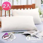 【法國Jumendi-悠然純淨.白】專利吸濕速乾舒眠枕-2入