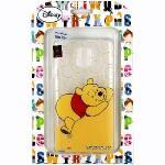 【Disney】Samsung Galaxy Note 4 微笑系列彩繪透明保護軟套-維尼