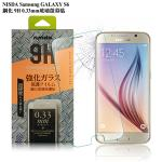 NISDA Samsung GALAXY S6 鋼化 9H 0.33mm玻璃螢幕貼