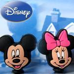迪士尼米老鼠(米奇米妮)通用型3.5mm耳機孔防潮防塵塞(米奇&米妮)