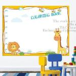 Christine寶貝學習牆貼/壁貼/塗鴉貼 TCA131 玩耍動物