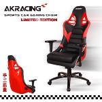 AKRACING超跑賽車椅名流收藏款-GT911 PORSCHE(紅)