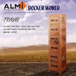 �iALMI�jDOCKER WORLD- CD/DVD 6 DRAWERS ���Ⱚ�d