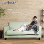 【grantecs】Pure 極究質感雙人沙發-芽綠(拆洗便)