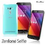 【Simply Design】 Asus Zenfone Selfie 無LOGO款高抗括透明保護殼(透明)