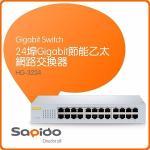 SAPIDO GS241e HG-3224 24�� Gigabit �`��A�Ӻ����洫��