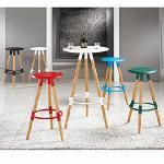 【凱堡】貝克 吧檯椅/工作椅(5色)(黑)