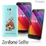 【Metal-Slim】ASUS Zenfone Selfie 香菇妹授權正版軟式保護殼(午茶時光)