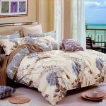 塔妮雅【似水流年】雙人全舖棉四件式二用被床包組