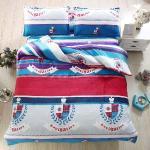 Lapin 航海士 法蘭絨雙人四件式兩用被鋪棉床包組