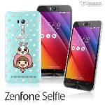 【Metal-Slim】ASUS Zenfone Selfie 香菇妹授權正版軟式保護殼(點點滴滴)