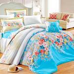 Missya【花海仙境】質感加厚超柔絲棉絨雙人六件式鋪棉床罩組