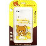 Rilakkuma 拉拉熊 Sony Xperia Z5 /E6653 彩繪透明保護軟套(吃點心)