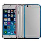 【Myshell】Apple iPhone6 (4.7吋)經典梅花扣金屬保護邊框(粉紅)